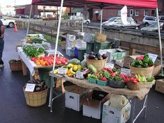 The Wayne County Farmers' Market, every Saturday, 9:30am to 1:30pm next to Dave's Super Duper, 200 Willow Avenue (rt 6) in Honesdale, PA.  This market runs May 24th through October 25th, 2014. More info at: https://www.facebook.com/pages/Wayne-County-Farmers-Market/342783086762