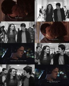 13 reasons why - Clay Jensen and Hannah Baker / Clanah