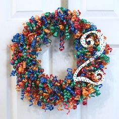 9 Party-Ready Birthday Wreaths You Can Make