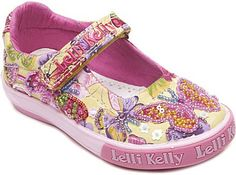 Lelli Kelly Kids Embellished canvas pumps 1-8 years on shopstyle.com
