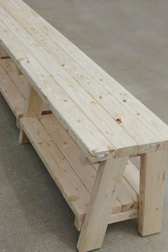 How to Make a Farmhouse Outdoor Bench