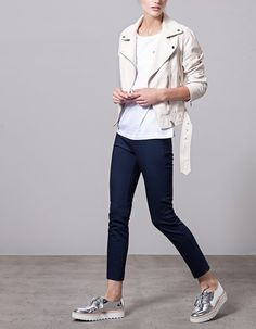 PANTALONES for woman at Stradivarius online. Visit now and discover the…
