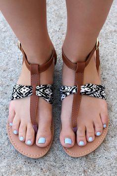 Tribal Print Sandal ATHENA-800 – UOIOnline.com: Women's Clothing Boutique