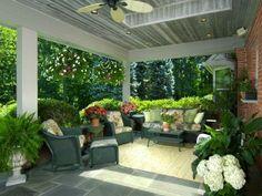 .Adoro este patio!!