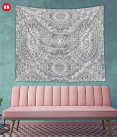 SOLD Wall Tapestries Mehndi Ethnic Style! http://www.redbubble.com/people/medusa81/works/21440823-mehndi-ethnic-style?p=tapestry&size=large #Redbubble #Wall #Tapestries #home #decor #homedecor #Mehndi #Ethnic #doodle #drawing #abstract #grey