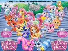Disney Princesses - Royal Palace Pets by BeautifPrincessBelle.deviantart.com on @deviantART