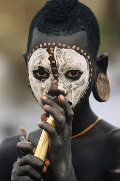 "Africa | ""People from the Omo Valley"", Ethiopia 