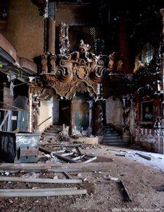 Abandoned Theatre: RKO Keith's Theatre