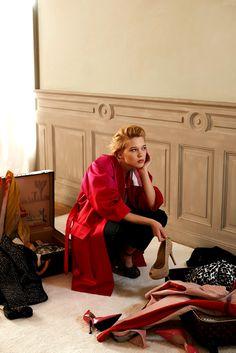 Léa Seydoux by Eric Guillemain for Elle Korea April 2013