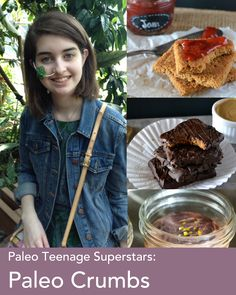 This girl is amazing. At just 16, she is working to heal herself through food and is sharing her story and Paleo recipes in the process.