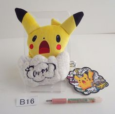 Pokemon Center Multi Box Pikachu Oops Spin-off.with the bonus item From japan #PokemonCenter