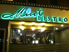 Mint Bistro, Elm Street, Manchester - great tapas, great cocktails, and the best sushi I've found in NH