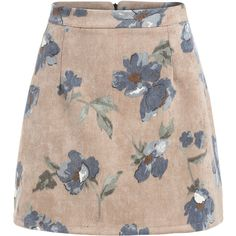 Florals Zipper A-Line Skirt ($16) ❤ liked on Polyvore featuring skirts, bottoms, faldas, multicolor, zip skirt, flower print skirt, multi color skirt, floral print skirt and colorful skirts