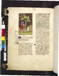 Harley 4431 fol 120v (Perseus). Paris, France 1410-1414.
