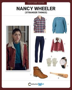 Get in costume as Nancy Wheeler as you figure out what happened your friend Barb Holland in Netflix's Stranger Things.