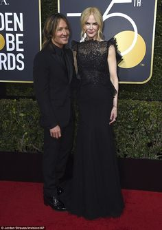 Style statement: As Hollywood royalty attended the Golden Globes in Beverly Hills on Sunda...