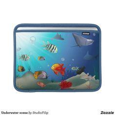 Underwater scene MacBook air sleeves