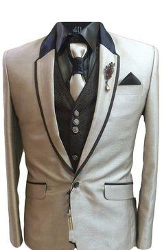 Stunning Light Brown Designer Blazer