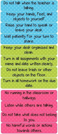 Polka Dot Classroom Rules Cards could also use as a checklist for individual kids working on specific behavioral issues Classroom Behavior, Future Classroom, School Classroom, School Office Organization, Classroom Organization, Organization Ideas, Stationary Organization, Kitchen Organization, Behavior Management