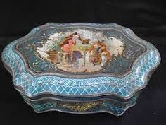 Other Antique Decorative Arts Ancienne Boite Gentle Old Box Antiques