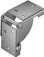 HAFELE 642.90.919 Folding Bracket For Leg 38x38