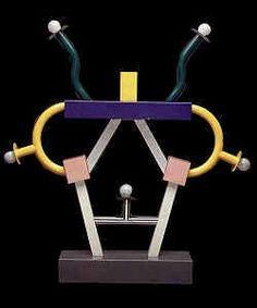 Deze lamp heeft weinig praktische functie, maar de symbolische functie is hoog.