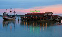 St Augustine, Florida. Santa Maria is the best restaurant in St. Augustine! :)
