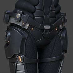model of sci-fi suit female Tactical Suit, Tactical Armor, Sci Fi Armor, Sci Fi Weapons, Suit Of Armor, Body Armor, Female Character Design, Character Modeling, Combat Suit