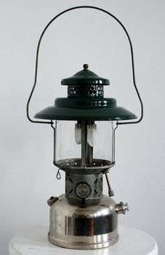 Etsy Transaction - Green Nickel Coleman Double Mantle Lantern 1949 Old Stove, Coleman Lantern, Coleman Camping, Gas Lanterns, Antique Oil Lamps, Stoves, Fishing Lures, Amazing Gardens, Campers