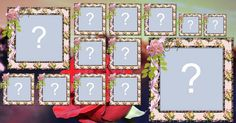 Lindo mosaico com 13 fotos de perfil que vc já usou. Faça o seu!