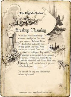 Book of Shadows, Free Spells, Real Witch Spells, Breakup Spell, Cleansing Spell Wiccan Witch, Wicca Witchcraft, Magick Spells, Wiccan Books, Green Witchcraft, Break Up Spells, Love Spells, Easy Spells, Spells For Beginners