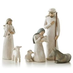 Nativity Set Scenes from Willow Tree. Shop our four distinctive hand-sculpted Nativity Sets on the official site for Willow Tree by Susan Lordi. Christmas Nativity, Noel Christmas, A Christmas Story, Xmas, Christmas Figurines, Christmas Gifts, Christmas Countdown, Christmas Ornaments, Family Set