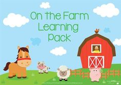 On the Farm Learning Pack