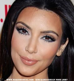 Kim Kardashian...girl, who are you beneath the make-up?