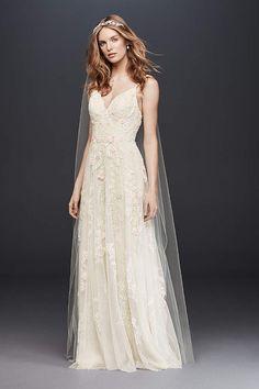8ab2aeaeab865 NTMS251177_IVYCHAMP_MS_PROD4_065 (680×1020) Melissa Sweet, Lace Wedding, Bridal  Wedding Dresses,
