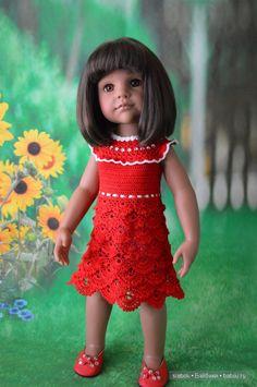 Я по-прежнему вязала....да вот опять не довязала)) / Одежда и обувь для кукол своими руками / Бэйбики. Куклы фото. Одежда для кукол
