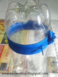 [recycle] pencilcase from plasticbottle,,