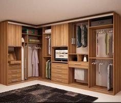 Ideas For Bedroom Wardrobe Storage Design Corner Wardrobe, Wardrobe Design Bedroom, Master Bedroom Closet, Wardrobe Storage, Bedroom Wardrobe, Wardrobe Closet, Bedroom Cupboard Designs, Closet Layout, Dressing Room Design
