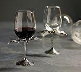 Bat Wine Glass