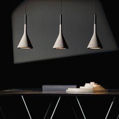 Awesome Concrete furniture: ideas for home decor, Aplomb lamp, Lucidi-Pevere, Foscarini, 2010  