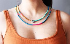 Do it yourself // Ethno-Schmuck | The FASHION ID Blog #diy
