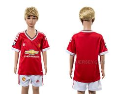 http://www.xjersey.com/201516-manchester-united-home-youth-jersey.html 2015-16 MANCHESTER UNITED HOME YOUTH JERSEY Only 33.11€ , Free Shipping!