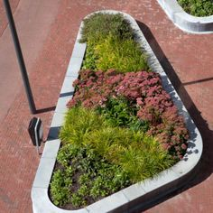 Station Square Zwijndrecht by Bureau B+B. Raised Planters