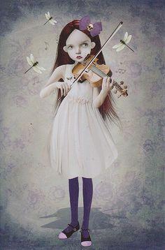 © Tanya Mayers. A Dragonfly's Song