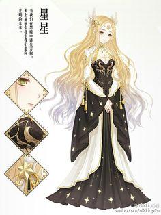 Love Kiki Stylist Queens — I want that corset Chibi, Star Fashion, Fashion Art, Fashion Design, Anime Pokemon, Kleidung Design, Nikki Love, Anime Dress, Estilo Anime