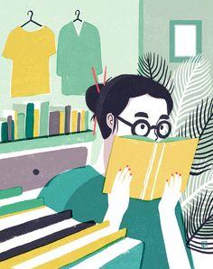 Voracious Reader  -  Geraldine Sy