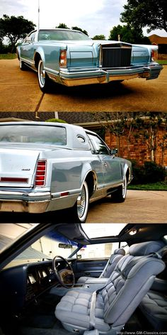 Lincoln Continental Dash Plaque Collectors Series Mark Series Town Car 1979