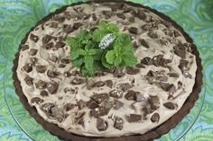 The Café Sucré Farine: Toblerone Chocolate Chess Tart with Chocolate Shortbread Crust