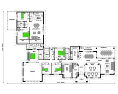 Add an attached granny flat to many of our new home designs for a fraction of the cost of building a stand-alone granny flat. Take a look at our house plans with attached granny flats. Family House Plans, Ranch House Plans, Best House Plans, Dream House Plans, Small House Plans, House Floor Plans, New Home Windows, Granny Flat Plans, Stroud Homes