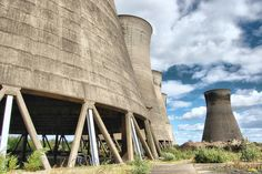 North-East Views of Thorpe Marsh Power Station, UK, completed 1965
